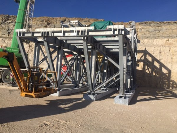 CEMEX GRANULATS - Assembling of Metallic Structures
